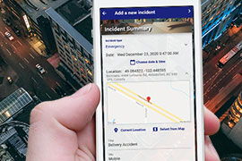 Incident Tracking &Broadcast App